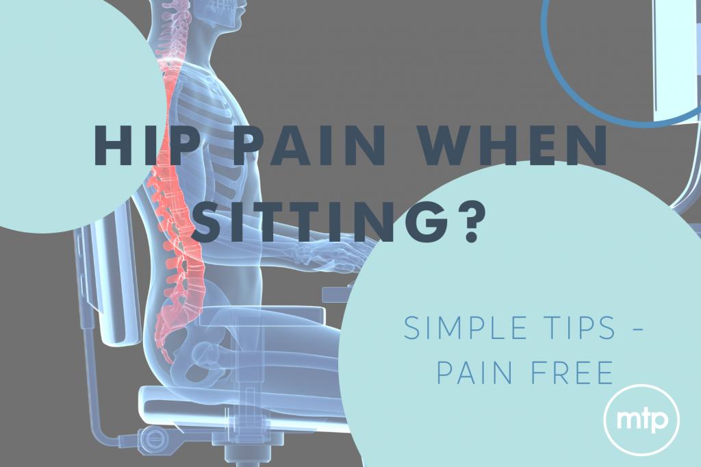 Hip Pain When Sitting