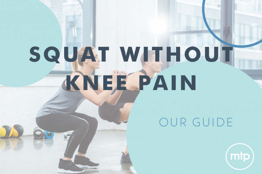 Squat Without Knee Pain