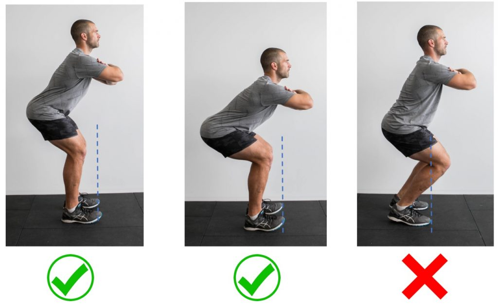 Squatting Without Knee Pain